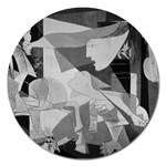 Pablo Picasso - Guernica Round Magnet 5  (Round)