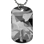 Pablo Picasso - Guernica Round Dog Tag (One Side)