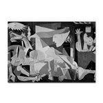 Pablo Picasso - Guernica Round Sticker A4 (100 pack)