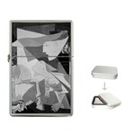 Pablo Picasso - Guernica Round Flip Top Lighter