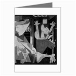 Pablo Picasso - Guernica Round Greeting Card