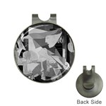Pablo Picasso - Guernica Round Golf Ball Marker Hat Clip