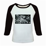 Pablo Picasso - Guernica Round Kids Baseball Jersey