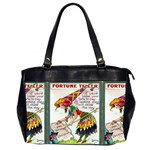 Vintage Halloween Postcard Oversize Office Handbag (Two Sides)