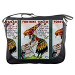 Vintage Halloween Postcard Messenger Bag