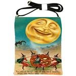 Vintage Halloween Postcard Shoulder Sling Bag