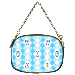 Plaid Bunny Chain Purse (two Side) by Contest1612479