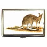 grey-kangaroo Cigarette Money Case