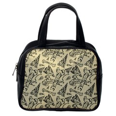 Bones & Arrows Classic Handbag (one Side) by Contest1719194