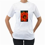 Orange Flower Women s T-Shirt