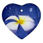 Water Flower Ornament (Heart)