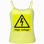 high_voltage Yellow Spaghetti Tank