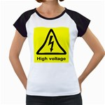 high_voltage Women s Cap Sleeve T