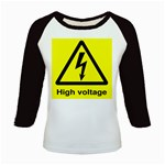high_voltage Kids Baseball Jersey