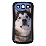 Use Your Photo Alaskan Malamute Dog Samsung Galaxy S3 Back Case (Black)
