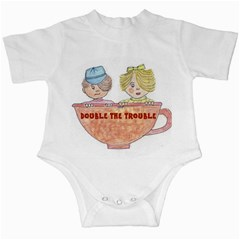 Double The Trouble Infant Creeper from Art2Do Front
