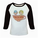 Double The Trouble Kids Baseball Jersey