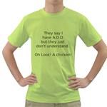 A.D.D Green T-Shirt