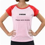 I WISH Women s Cap Sleeve T-Shirt