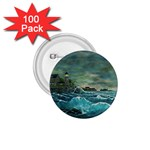 Hobson s Lighthouse -AveHurley ArtRevu.com- 1.75  Button (100 pack)