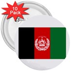 Afghanistan 3  Button (10 pack)