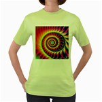 FF257 Women s Green T-Shirt