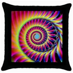 FF257 Throw Pillow Case (Black)