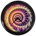 FF257 Wall Clock (Black)