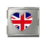 UK Megalink Heart Italian Charm (18mm)