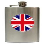 UK Hip Flask (6oz)
