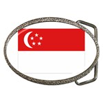 Singapore Flag Belt Buckle