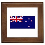 New Zealand Flag Framed Tile