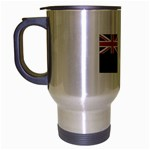 New Zealand Flag Travel Mug (Silver Grey)