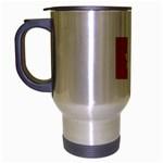 Hong Kong Flag Travel Mug (Silver Grey)