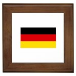 German Flag Framed Tile