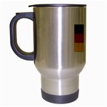 German Flag Travel Mug (Silver Grey)