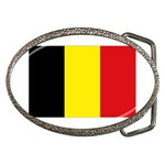 Belgium Flag Belt Buckle