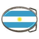 Argentinian Flag Belt Buckle
