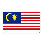 Malaysian Flag Magnet (Rectangular)