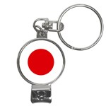 Japanese Flag Nail Clippers Key Chain