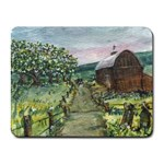 Amish Apple Blossoms -AveHurley ArtRevu.com- Small Mousepad