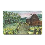 Amish Apple Blossoms - Ave Hurley - Magnet (Rectangular)