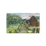 Amish Apple Blossoms -AveHurley ArtRevu.com- Sticker Rectangular (100 pack)
