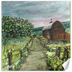 Amish Apple Blossoms -AveHurley ArtRevu.com- Canvas 20  x 20