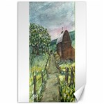 Amish Apple Blossoms -AveHurley ArtRevu.com- Canvas 20  x 30