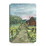 Amish Apple Blossoms -AveHurley ArtRevu.com- Small Doormat