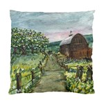 Amish Apple Blossoms - Ave Hurley - Cushion Case (One Side)