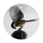 Swallow Ornament (Round)