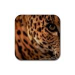 Leopard Rubber Coaster (Square)