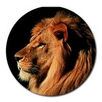 Lion Round Mousepad
